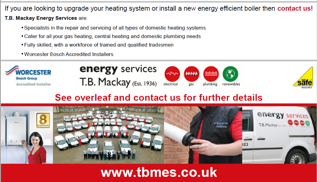 10 months Interest Free Credit available on Worcester Bosch Boilers