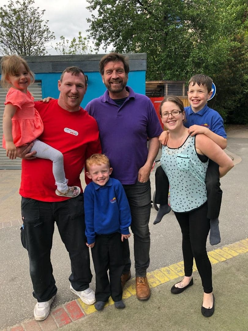 The Duke Family & Nick Knowles