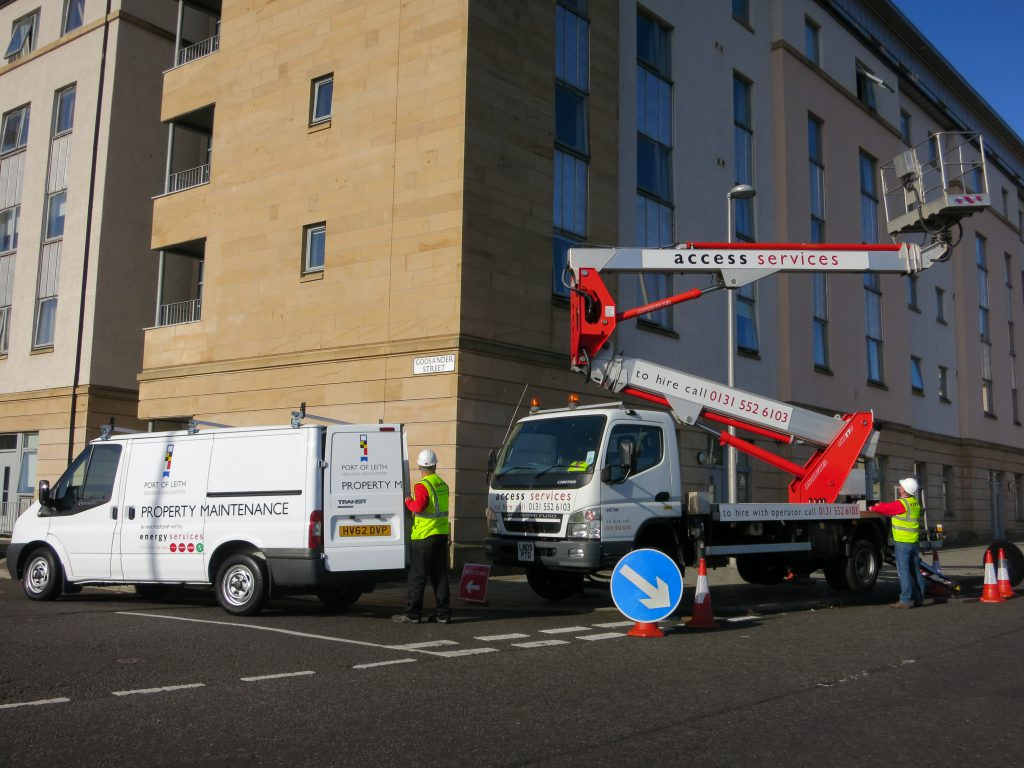 Truck Mounted Cherry Picker